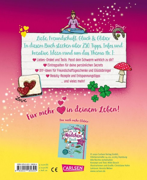 CARLSEN Dein Mädchen-Lovebook Spielzeug