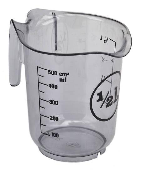 NIC Messbecher 0,5 Liter Spielzeug