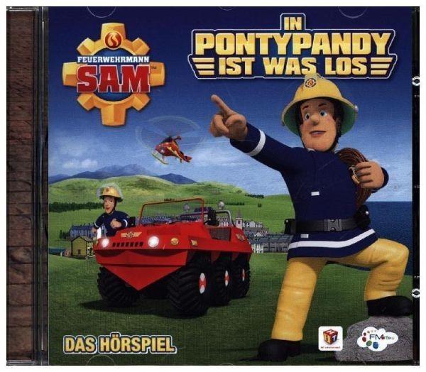BUSCH CD Feuerehrmann Sam 9.5: In Pontypandy ist was los Spielzeug