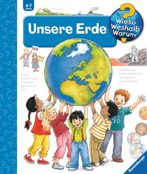 Ravensburger Buch WWW36 Unsere Erde Spielzeug