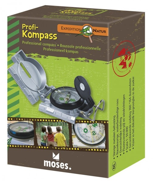 Moses Expedition Natur Profi-Kompass Spielzeug