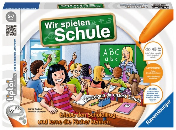 Ravensburger TipToi Wir spielen Schule Spielzeug