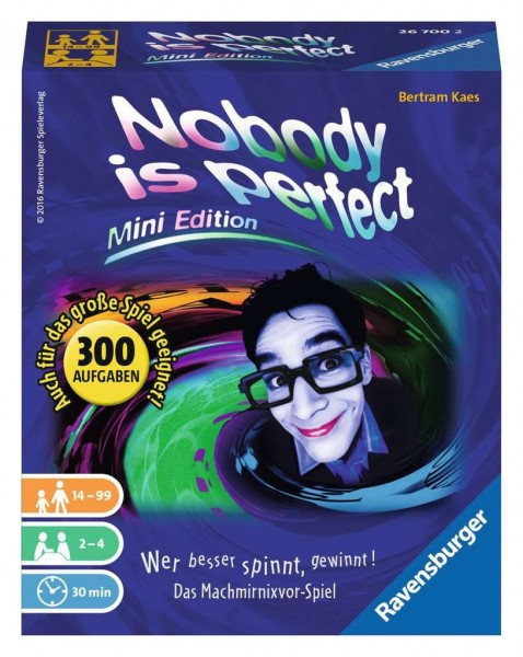Ravensburger Nobody is perfect - Mini Edition Spielzeug