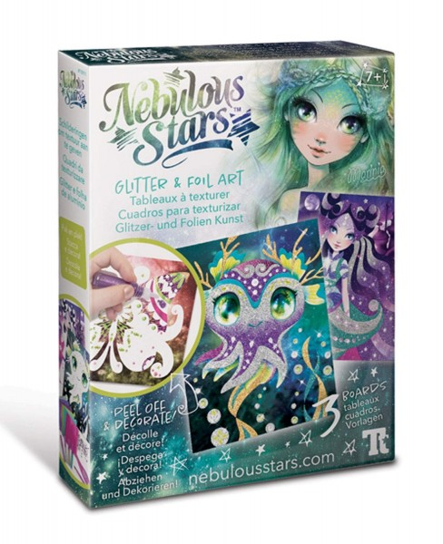 Nebulous Stars Glitzer- und Folien Kunst Spielzeug