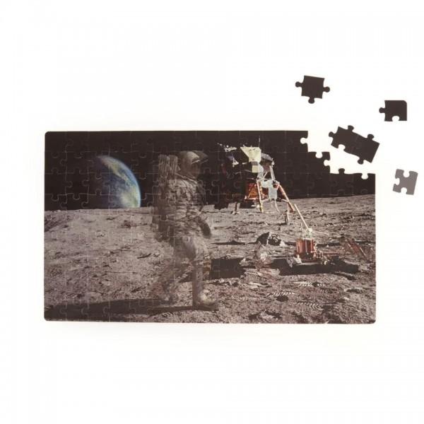KIKKERLAND Bewegtbild Puzzle Mondlandung Moonwalker Motion Puzzle Spielzeug