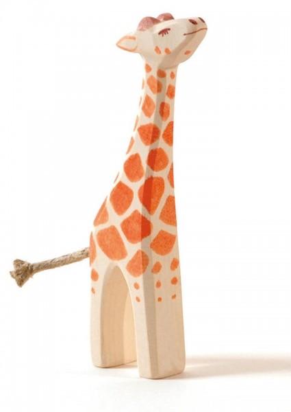 Ostheimer Figur Giraffe klein Kopf hoch Spielzeug