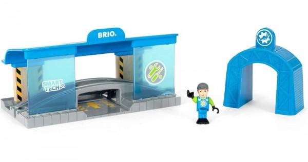 Brio Smart Tech Eisenbahn-Werkstatt Spielzeug