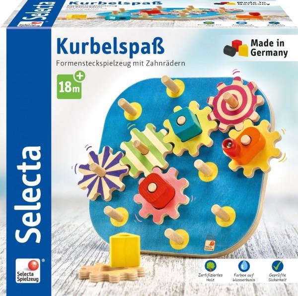 Selecta Kurbelspaß Spielzeug