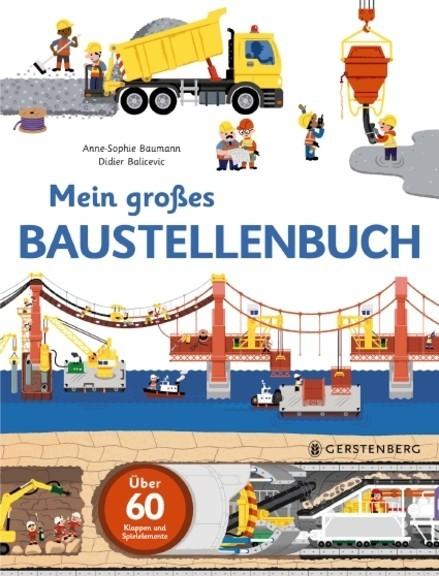 Gerstenberg Mein großes Baustellenbuch Spielzeug