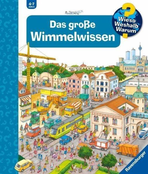 Ravensburger Buch WWW Das große Wimmelwissen (Riesenbuch) Spielzeug