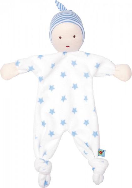 Die Spiegelburg Mein erstes Schmusetuch BabyGlück, hellblau Spielzeug