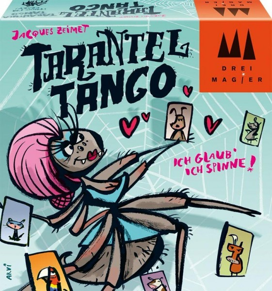 Drei Magier Tarantel Tango Spielzeug