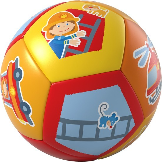 Haba Babyball Feuerwehr Spielzeug