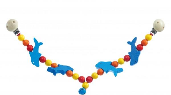 nic Kinderwagen - Kette Delfin Spielzeug