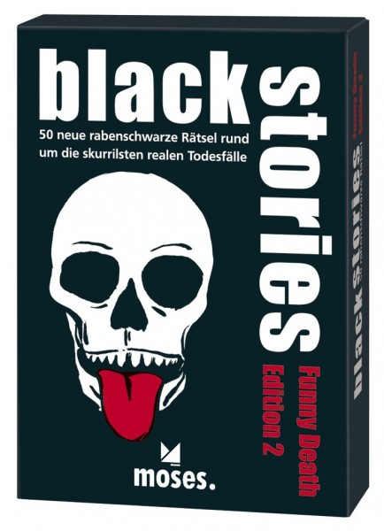 Moses black stories Funny Death 2 Spielzeug