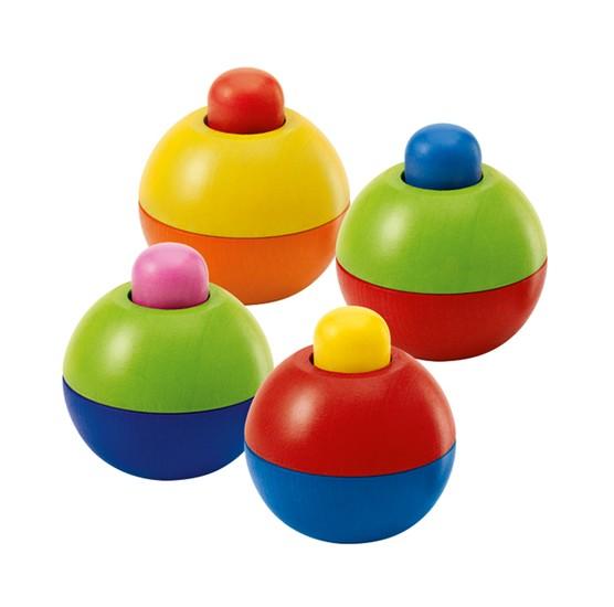 Schmidt Spiele Quietschkugel, 4x1 im Polybeutel Spielzeug