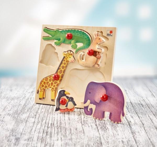Selecta Puzzle Zoo, 5 Teile Spielzeug