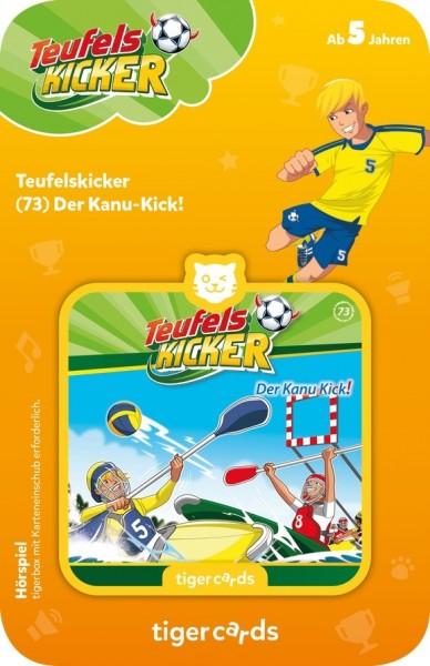 Tigermedia tigercard - Teufelskicker - Folge 73: Der Kanu-Kick Spielzeug