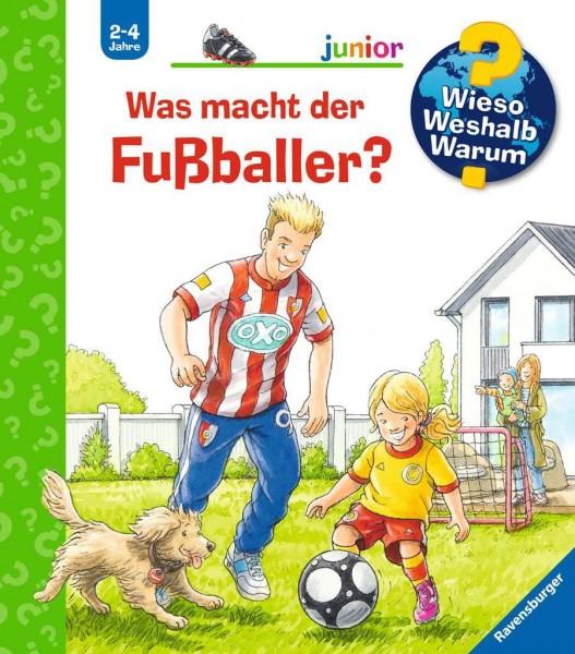 Ravensburger WWW junor 68: Was macht der Fußballer? Spielzeug