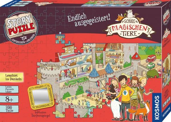 Kosmos Story Puzzle 200 Teile: Die Schule der magischen Tiere - Endlich ausgegeistert! Spielzeug