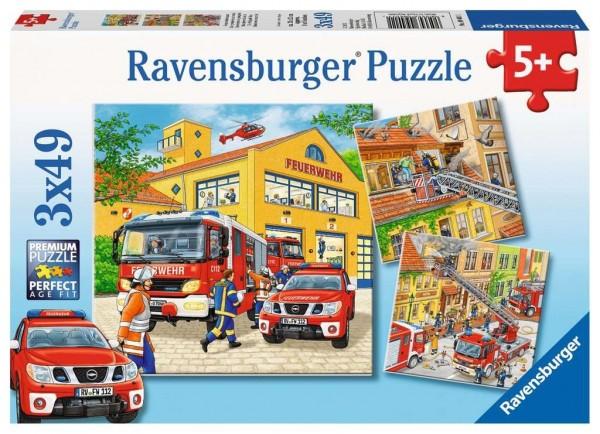 Ravensburger Feuerwehreinsatz 3x49 Teile Spielzeug