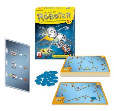 Nürnberger Spielkarten Verlag Wir sind die Roboter Spielzeug
