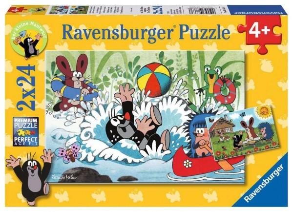 Ravensburger Urlaub mit Maulwurf und seinen Freunden 2 X 24 Teile Spielzeug