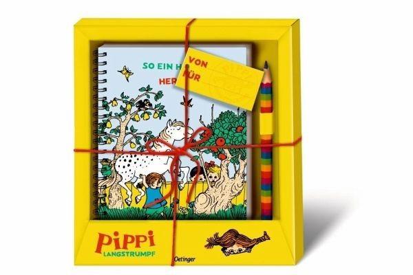 Oetinger Verlag Pippi Langstrumpf Geschenkset Spielzeug