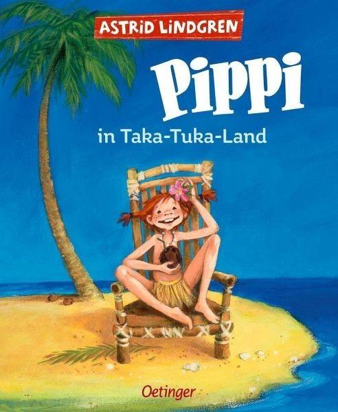 Oetinger Verlag Lindgren, Pippi Taka-Tuka Land (farbig) Spielzeug