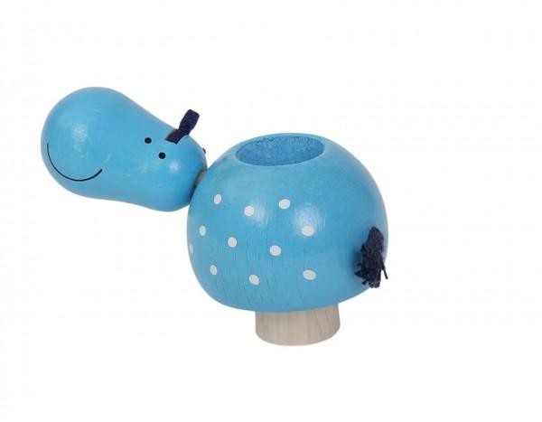 Rundum Geburtstagsring Kerzenhalter Nilpferd Spielzeug