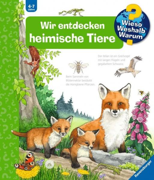 Ravensburger Wir entdecken heimische Tiere Spielzeug