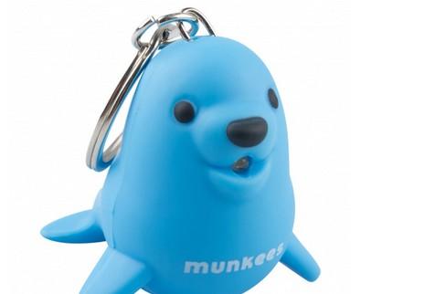 Munkees Seelöwe LED Blau Spielzeug