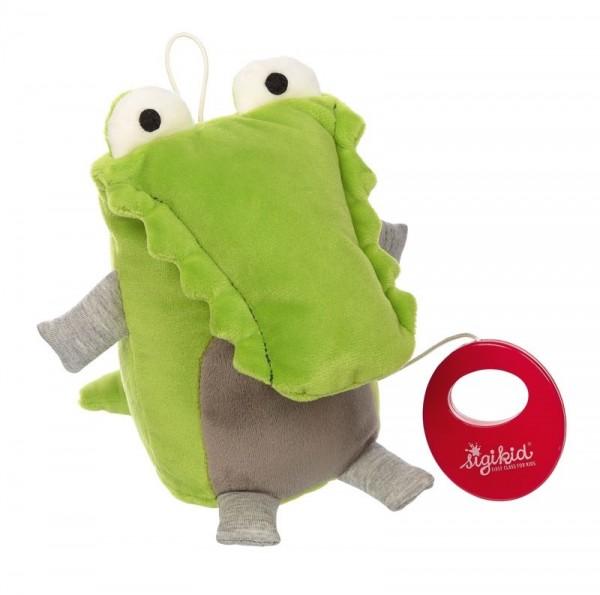 Sigikid Spieluhr Krokodil Urban Baby Spielzeug
