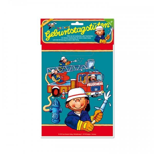 Lutz Mauder Verlag Partytüten Benny Brandmeister Spielzeug