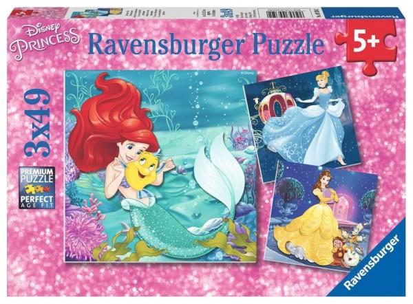 Ravensburger Abenteuer der Prinzessinnen 3x49 Teile Spielzeug