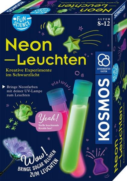 Kosmos Fun Science Neon-Leuchten Kreative Experimente im Schwarzlicht Spielzeug