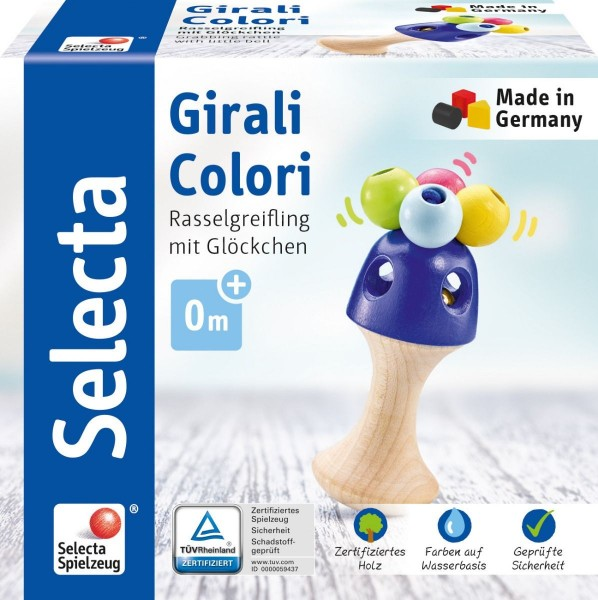 Schmidt Spiele Girali Colori, Stielgreifling Spielzeug