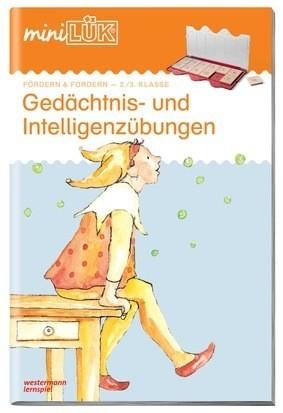 Mini-LÜK: Gedächtnis- und Intelligenzübungen. Für die 2. und 3. Klasse Spielzeug