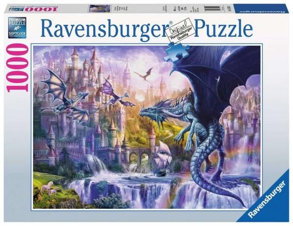 Ravensburger Spiele Drachenschloss 1000 Teile Spielzeug