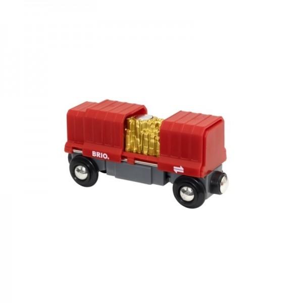 Brio Container Goldwaggon Spielzeug