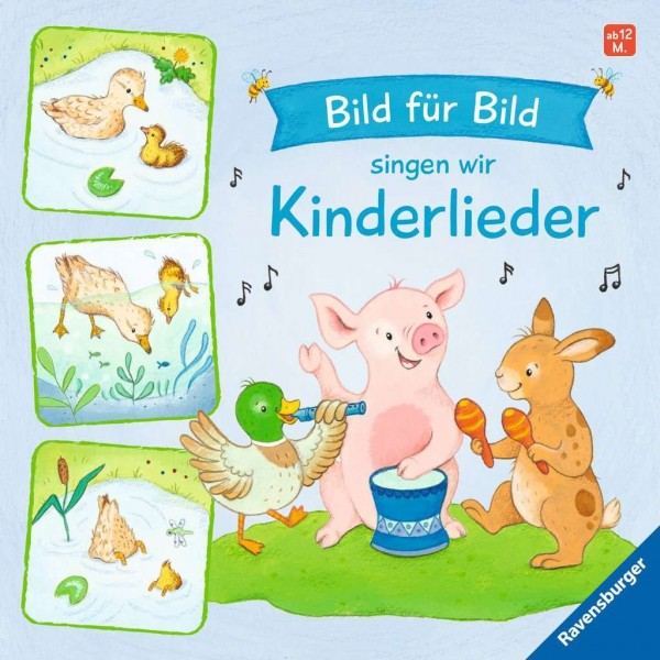 Ravensburger Buch Bild für Bild singen wir Kinderlieder Spielzeug