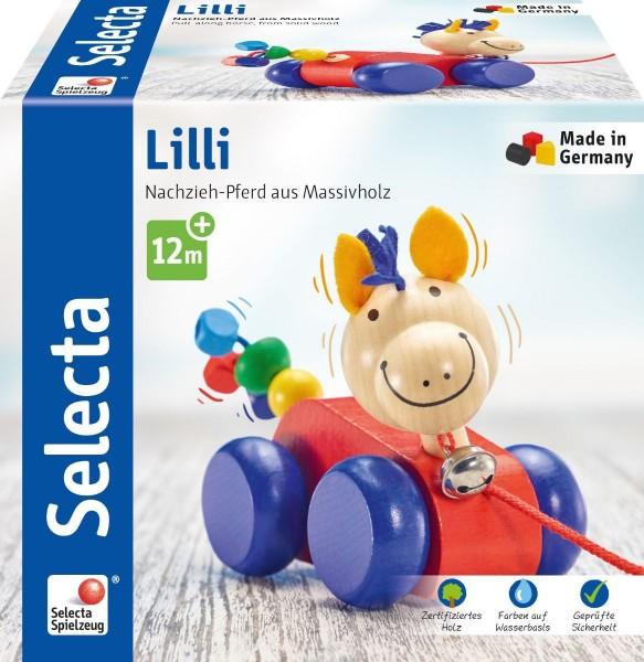 Selecta Lilli, Nachzieh Pferd Spielzeug
