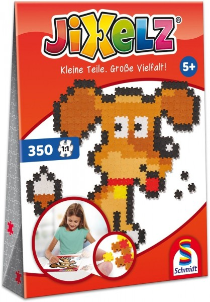Schmidt Spiele JIXELZ Hund 350 TEILE Spielzeug