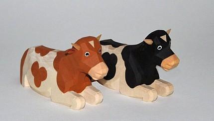 Lotte Sievers-Hahn Ochse liegend Spielzeug
