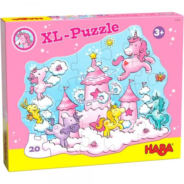 Haba Puzzle Einhorn Glitzerglück - Wolkenpuzzelei Spielzeug