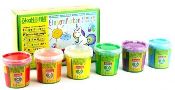 Aurich ökoNorm Einhorn-Fingerfarben Spielzeug