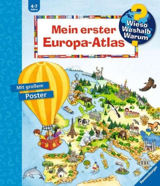 Ravensburger WWW - Mein erster Europa-Atlas Spielzeug