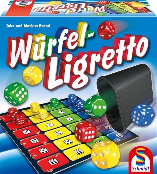 Schmidt Spiele Würfel-Ligretto Spielzeug