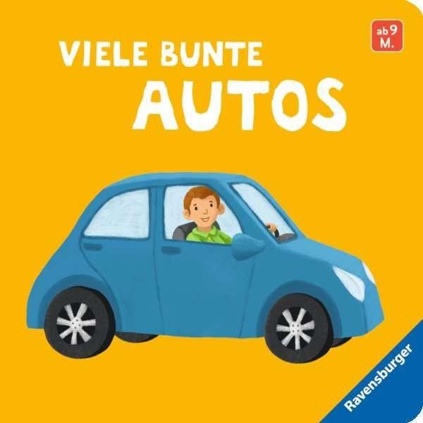 Ravensburger Buch bunte Autos, Mein erstes Bilderbuch Spielzeug