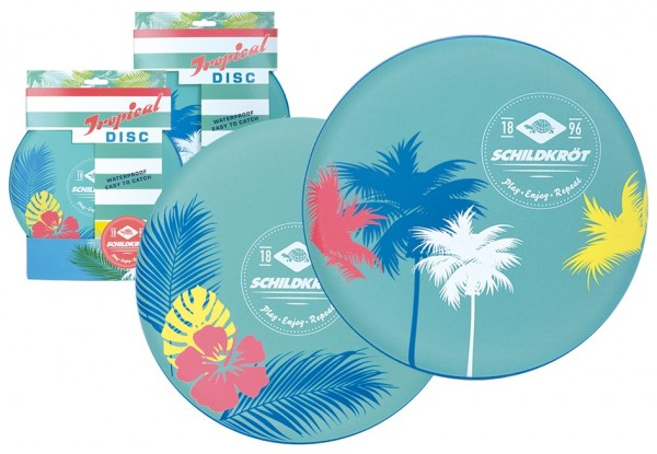 MTS Sportartikel Vertrieb Disc Tropical Design sort. Spielzeug